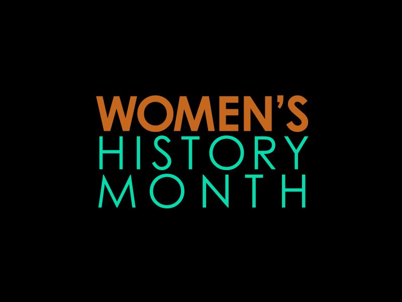 women's history month gov logo